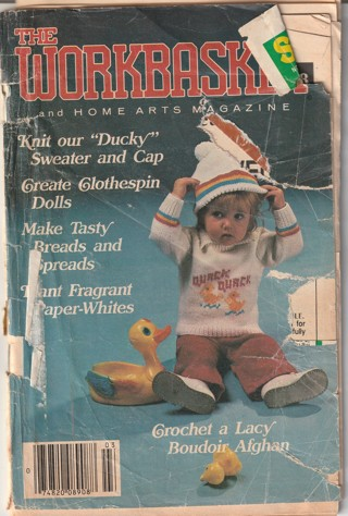 Workbasket Craft Book: Crochet, Knitting, Sewing, Patterns, How To: March 1985