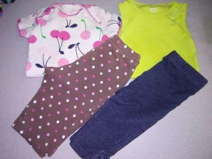 Infant Girls Clothes Lot #1