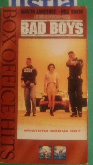 VHS  movie  Bad Boys   free shipping