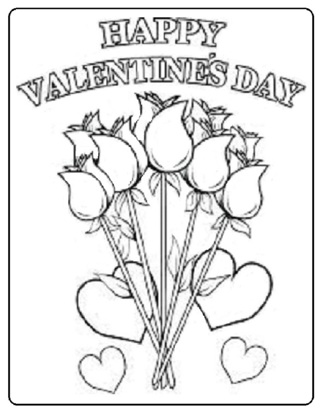 "♥ (New)  6 Misc. ""Love"" Valentines Coloring Sheets ♥"