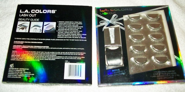 L.A. COLORS LASH OUT 7 PC SET #1 **FREE SHIPPING WITH GIN**