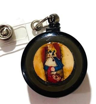 New Alice in Wonderland Badge Reel