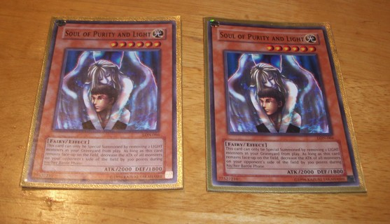 YUGIOH 2X SOUL OF PURITY AND LIGHT LON-066, 1996, Konami, Yu-Gi-Oh