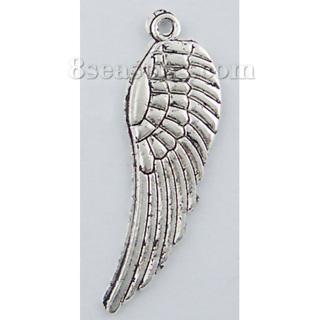 2  Pendants Angel Wings