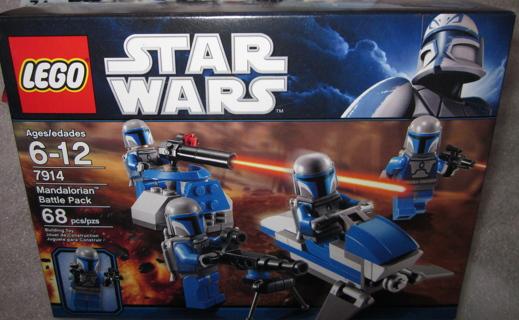 Lego Star Wars Mandalorian Battle Pack NIB #7914 NEW