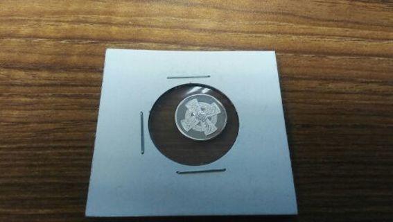"1 Gram .999 Pure Silver ""Celtic Cross"" Round Bullion"
