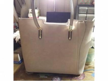 Heather Gray trio handbag set Tote, Crossbody Plus