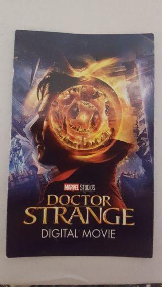 Doctor Strange I-Tunes Digit Download