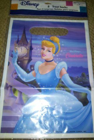 BNIP. 8 Cinderella party bags
