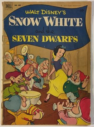Snow white and the seven dwarfs comic book