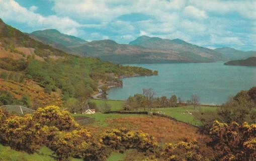 Vintage Used Postcard: 1971 Loch Lomond