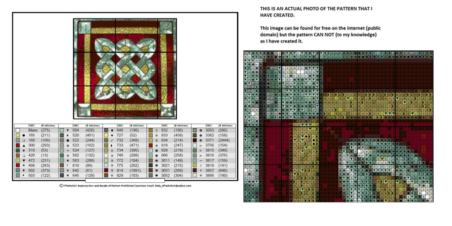 Celtic Stained Glass Window Cross Stitch Patterns ***WINNERS CHOICE***
