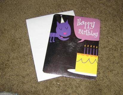 FREE MUSICAL BIRTHDAY CARD CAT SINGS FOOTLOOSE