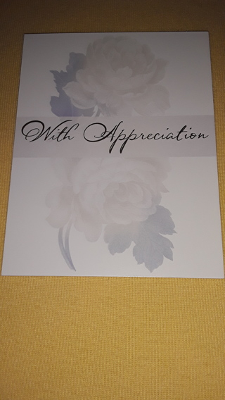 Thank You Notecards - Roses