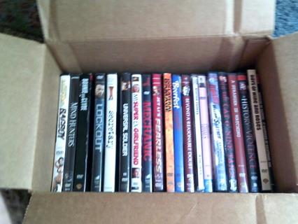 Gigantic DVD Lot ! 20 DVDs in Original Cases, Huge Lot