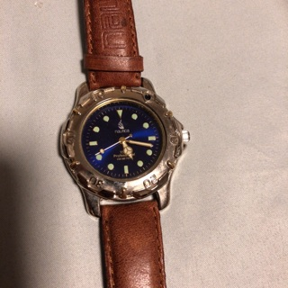 Leather Band Náutica Watch