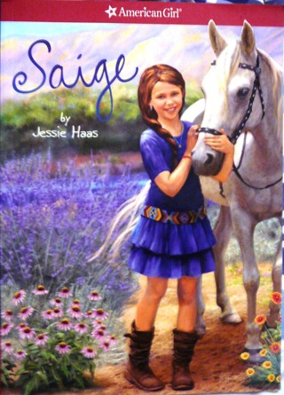 Saige (American Girl Today) by Jessie Haas