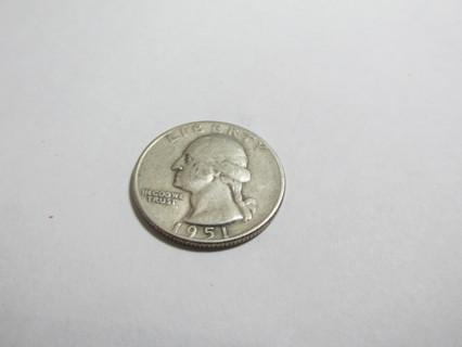 1951 US Quarter