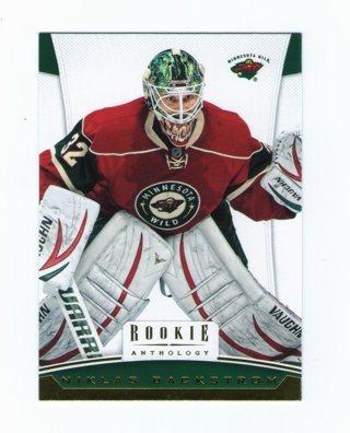 Niklas Backstrom Card Rookie Anthology