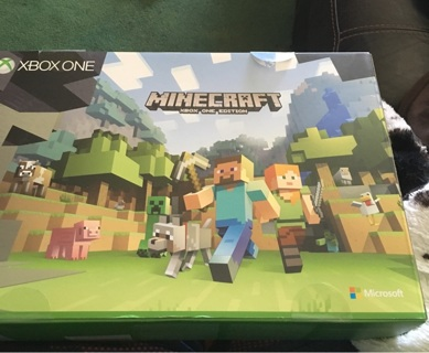 Xbox one 500gb minecraft edition