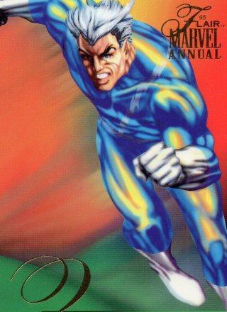 1995 Marvel Comic Trade Card: Quicksilver