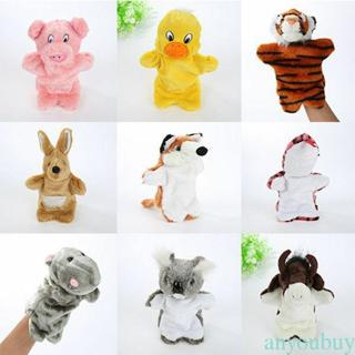 Family Hand Puppets Cloth Doll Baby Educational Hand Toy Story Kid Party Gift LP
