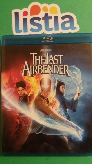 blu-ray  the last airbender    free shipping