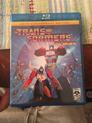 Transformers: The Movie 30th Anniversary Edition Blu Ray