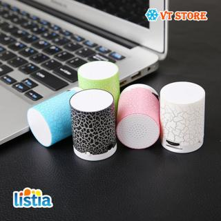 LED Portable Mini Speakers Wireless Hands Free Speaker With TF Playback MP3 DLNA AUX USB Memory Card