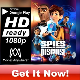 SPIES IN DISGUISE  HD GOOGLE PLAY CODE ONLY