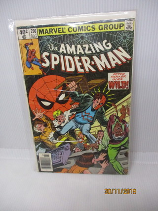 the AMAZING SPIDER-MAN #206