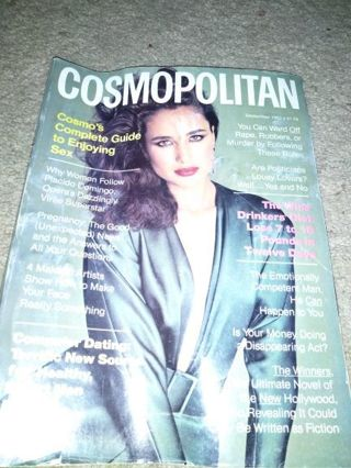 September 1982 Cosmopolitan Magazine! PLEASE READ ENTIRE DESCRIPTION!!!