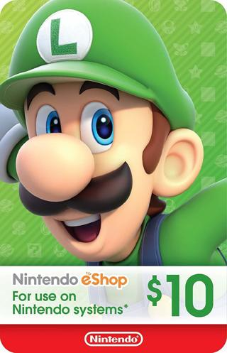 $10 USD Gift Card [Nintendo - PS - Xbox]