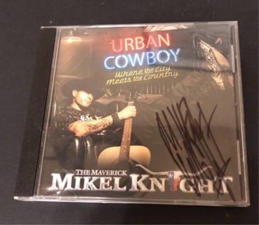 Urban Cowboy by Mikel Knight CD