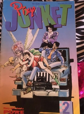 Pixy Junket Comic #2