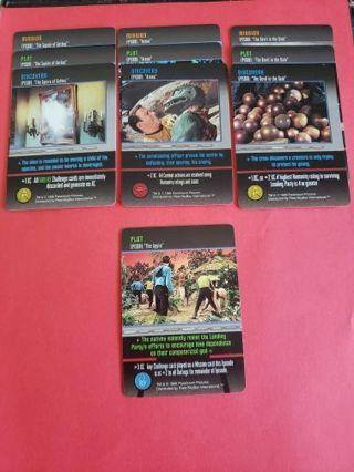 10 Star Trek The Card Game Original Series Lot #7
