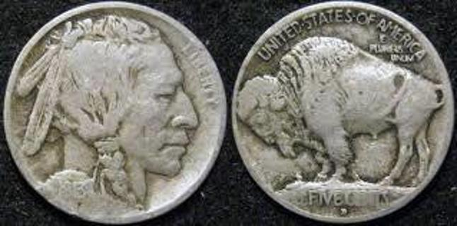 Old Buffalo Nickel Missing the Date coin