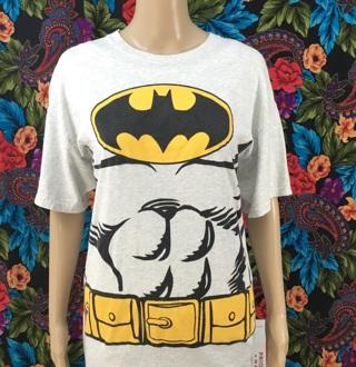 MEN'S Batman Shirt Bat Man Tee SIZE LARGE FREE SHIPPING