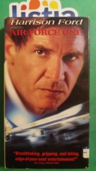 VHS movie  air force one  free shipping