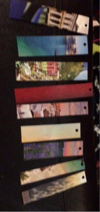 Lot of 9 Pretty Bookmarks