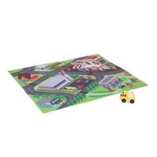 City Play mat with Yellow Truck BNIP