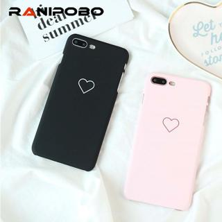 Love Heart Painted Phone Case For Samsung Galaxy S8 S7 S6 edge Couples Case Hard PC Back Cover Cas