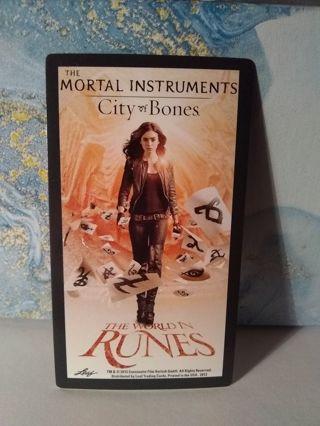 The Mortal Instruments city of bones Trading Card