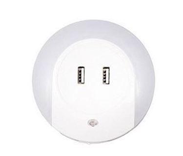 Night light dual USB charger