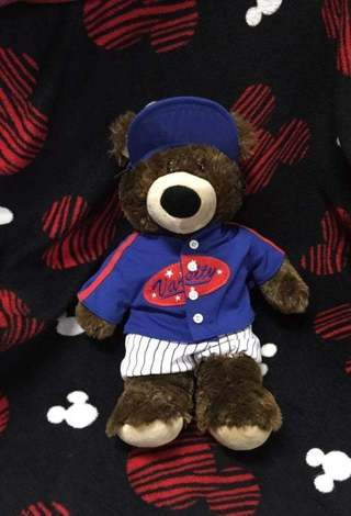 Build-A-Bear Workshop  Build A Bear Varsity Baseball Toy Plush FREE SHIPPING