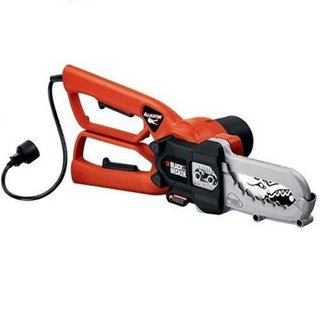 New Black and Decker LP1000 Alligator Lopper Mini Electric Chainsaw - Great for Cutting Branches
