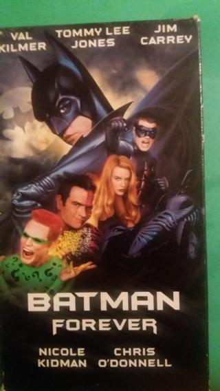 vhs batman forever free shipping