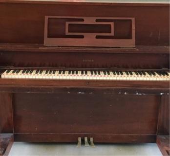 Vintage Priceless Piano