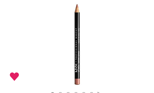 NYX Slim lip pencil nude pink, by nyx cosmetics,spl858