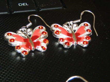 Beautiful Red Beautiful Earrings